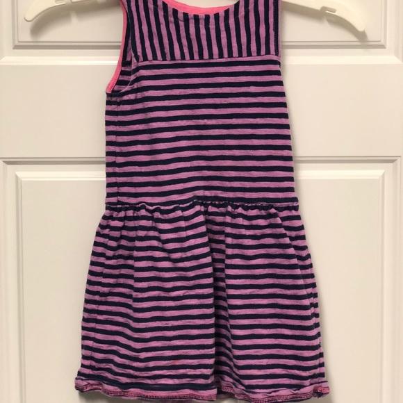 Dresses Pink And Purple Striped Girls Tank Dress Poshmark